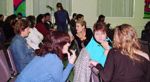 Forum social bas-laurentien à Esprit-Saint  en 2011